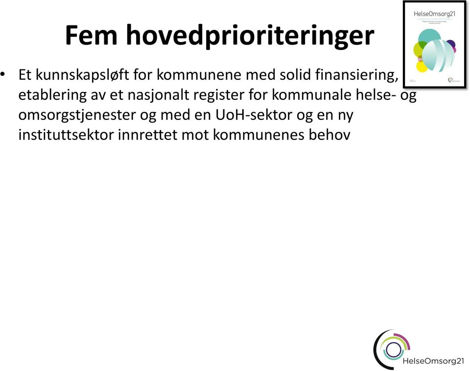 register for kommunale helse- og omsorgstjenester og med