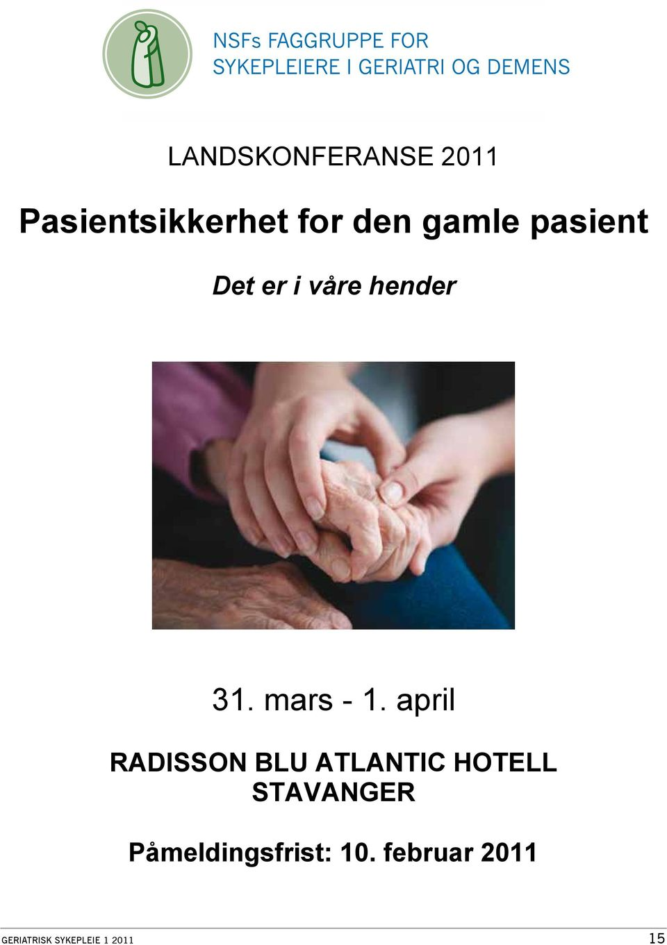 april RADISSON BLU ATLANTIC HOTELL STAVANGER