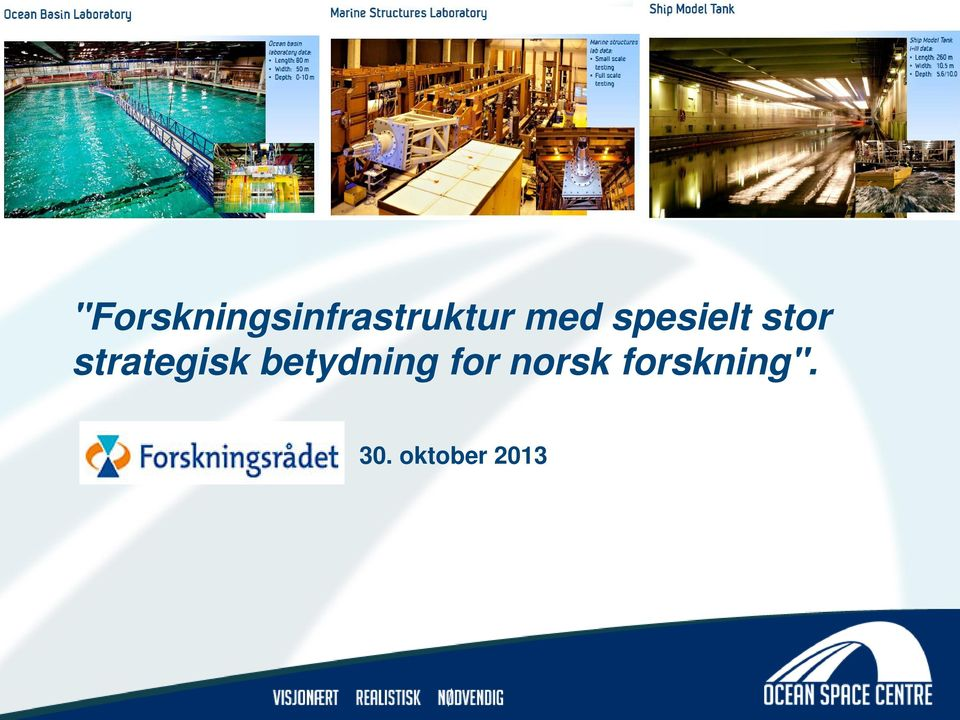 strategisk betydning for