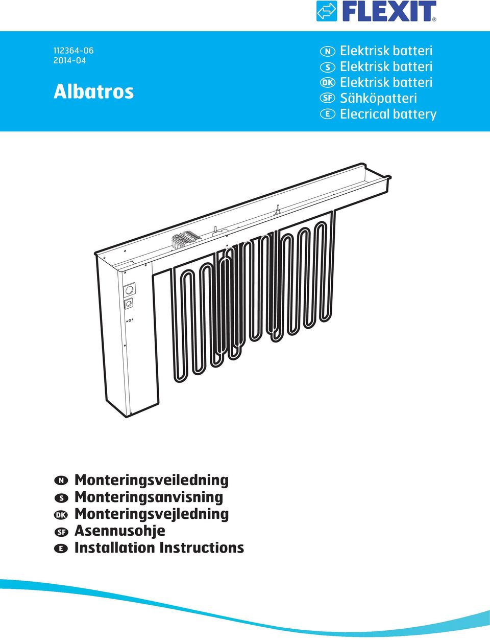 Elecrical battery Monteringsveiledning