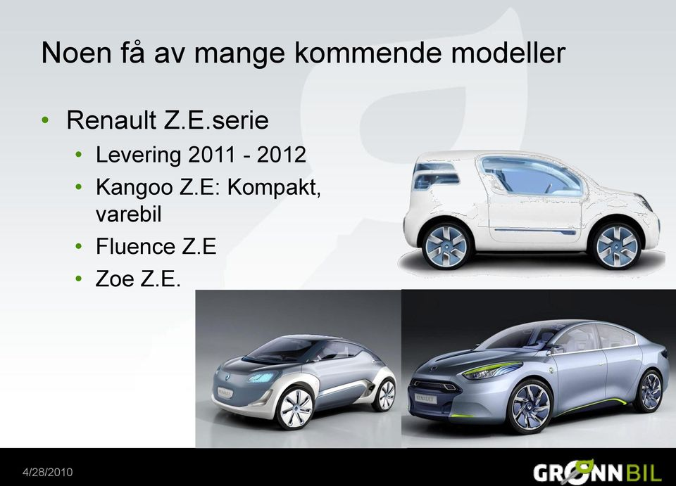 serie Levering 2011-2012