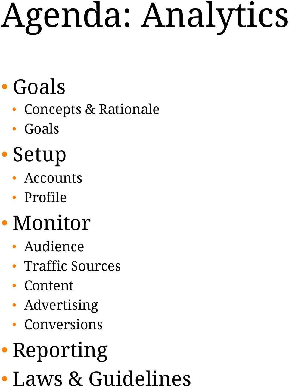 Monitor Audience Traffic Sources Content