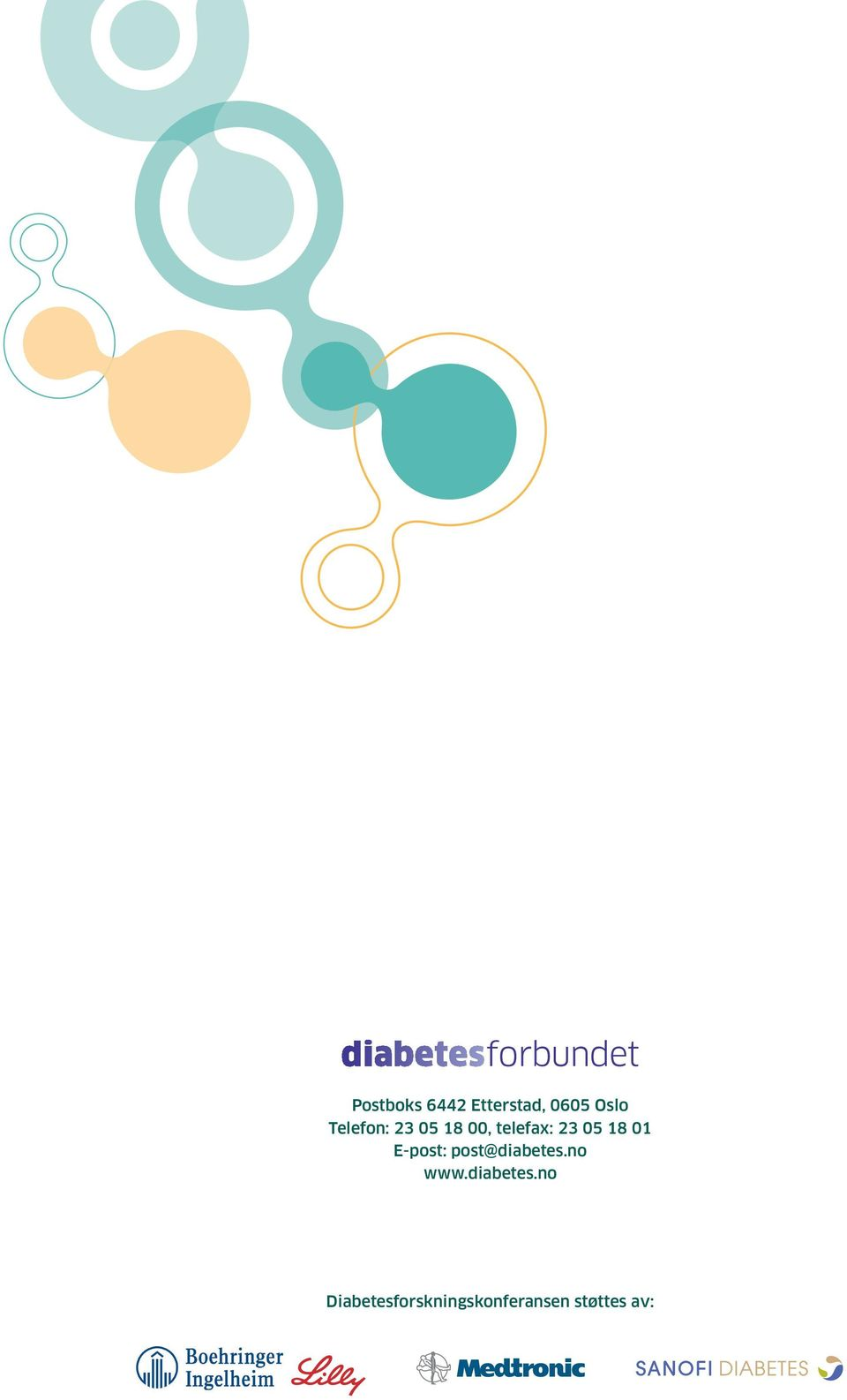 01 E-post: post@diabetes.no www.