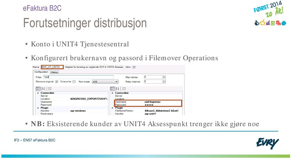 passord i Filemover Operations NB: