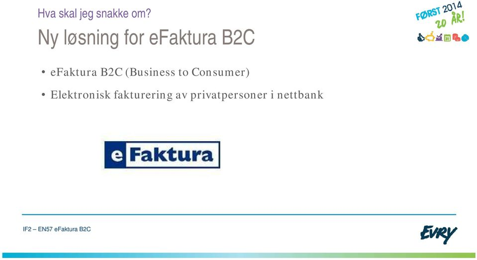 efaktura B2C (Business to