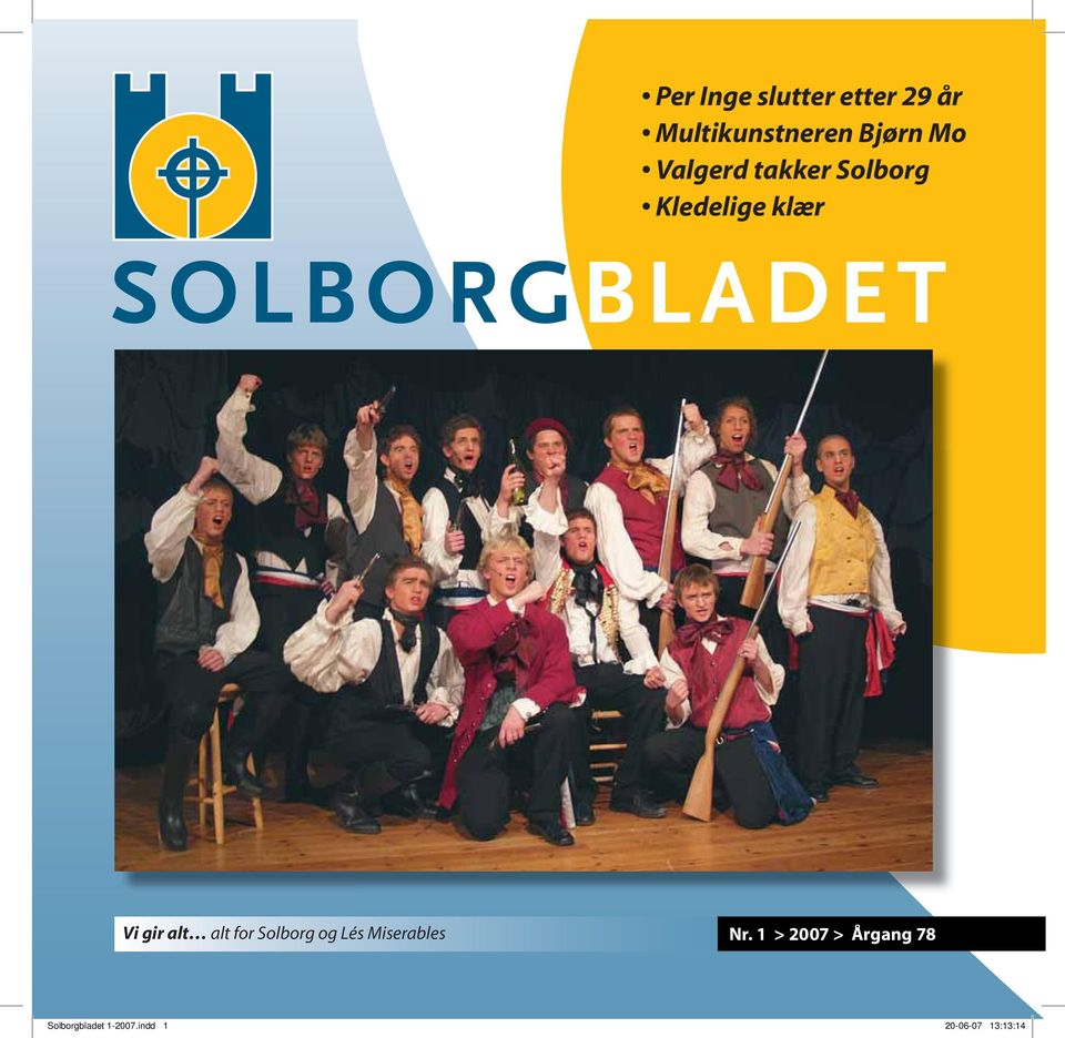 alt for Solborg og Lés Miserables Nr.
