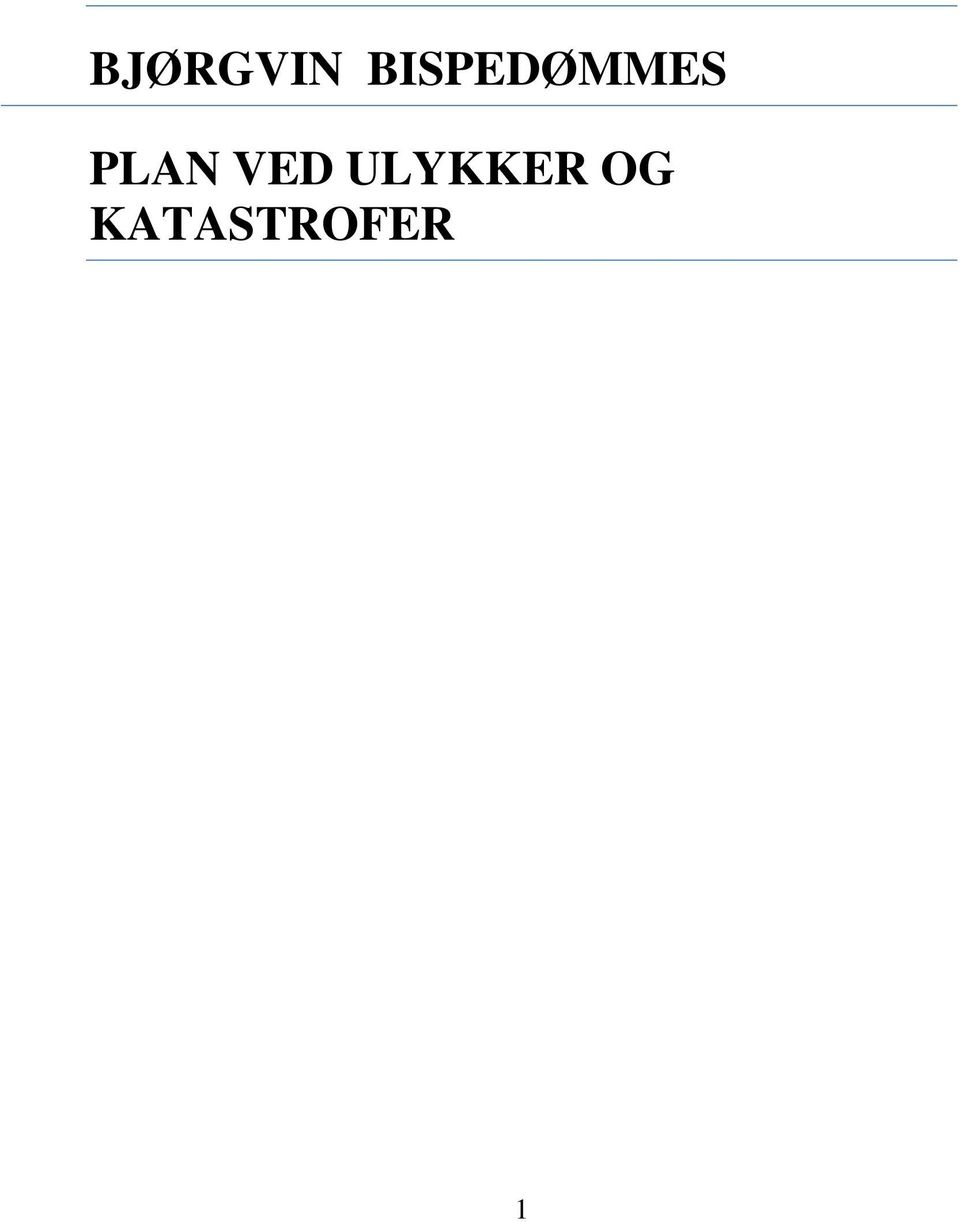 PLAN VED