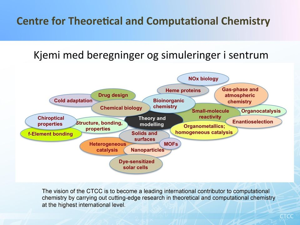 international contributor to computational chemistry by carrying out