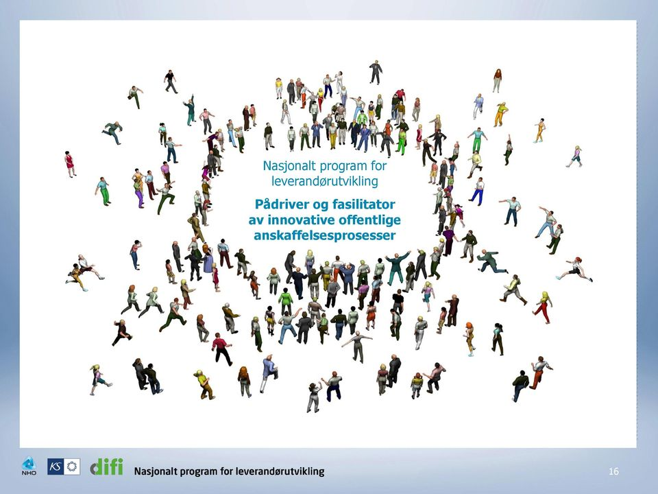 og fasilitator av innovative