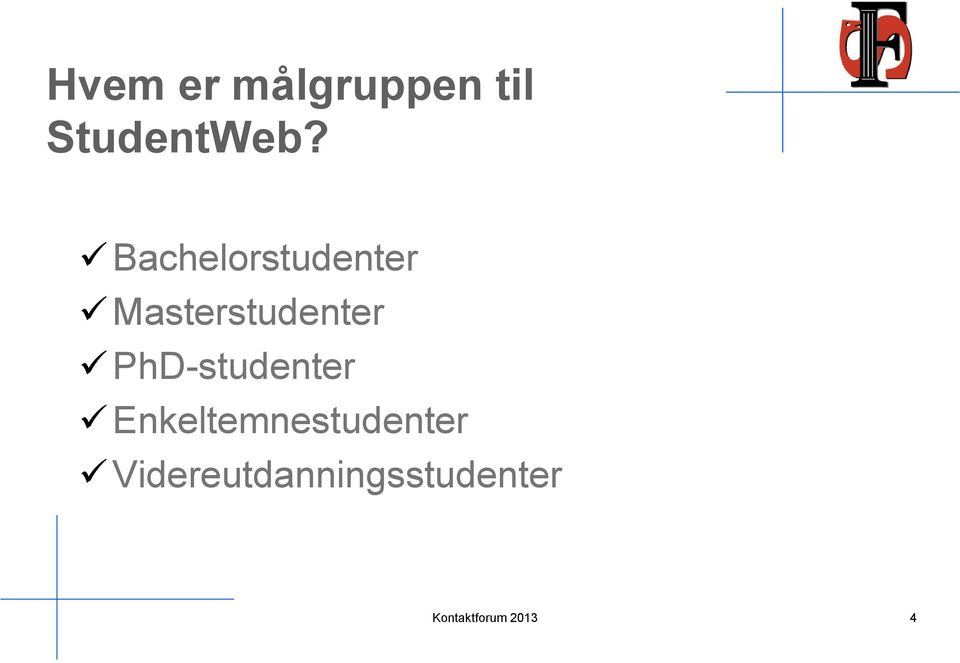 Bachelorstudenter