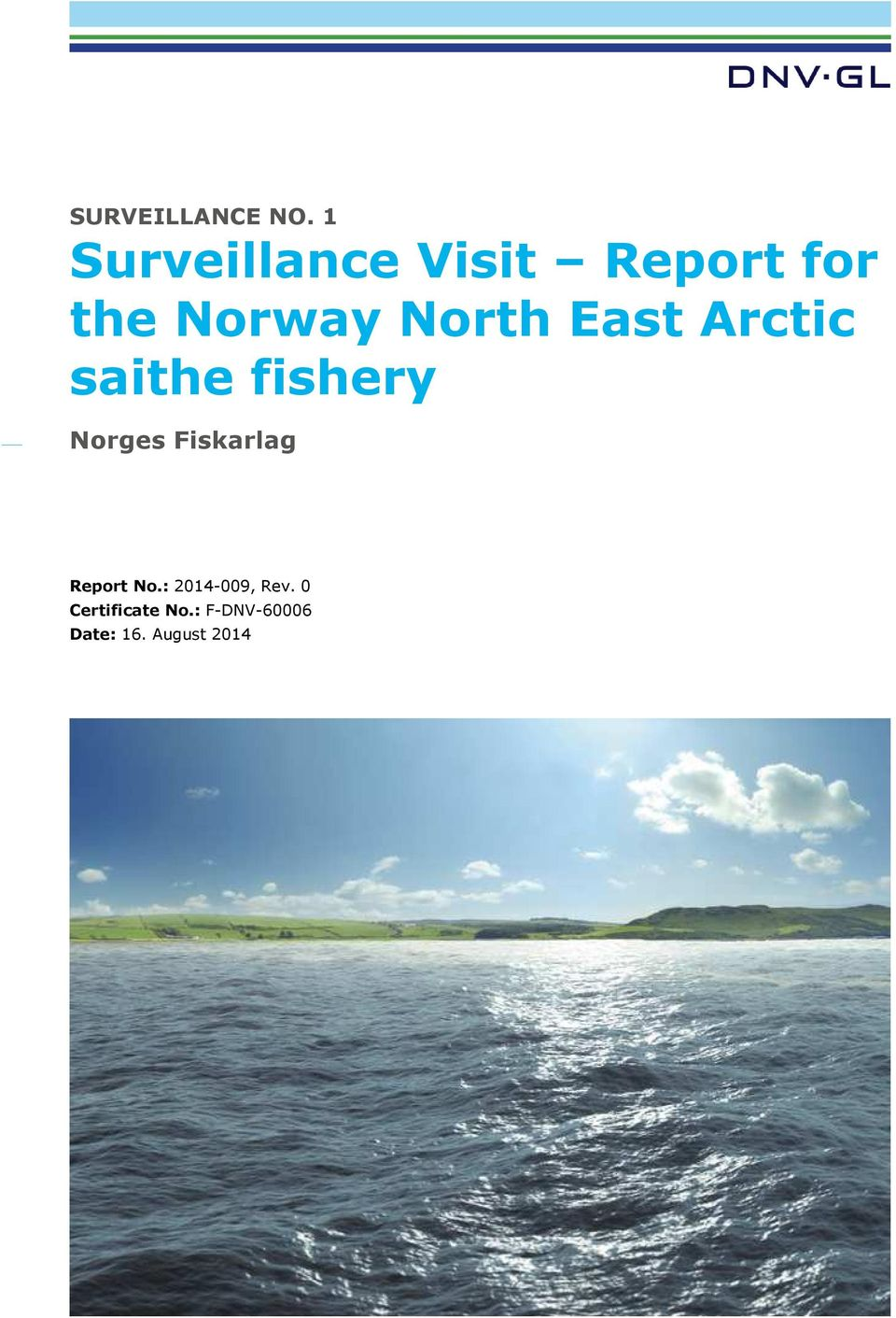 North East Arctic saithe fishery Norges