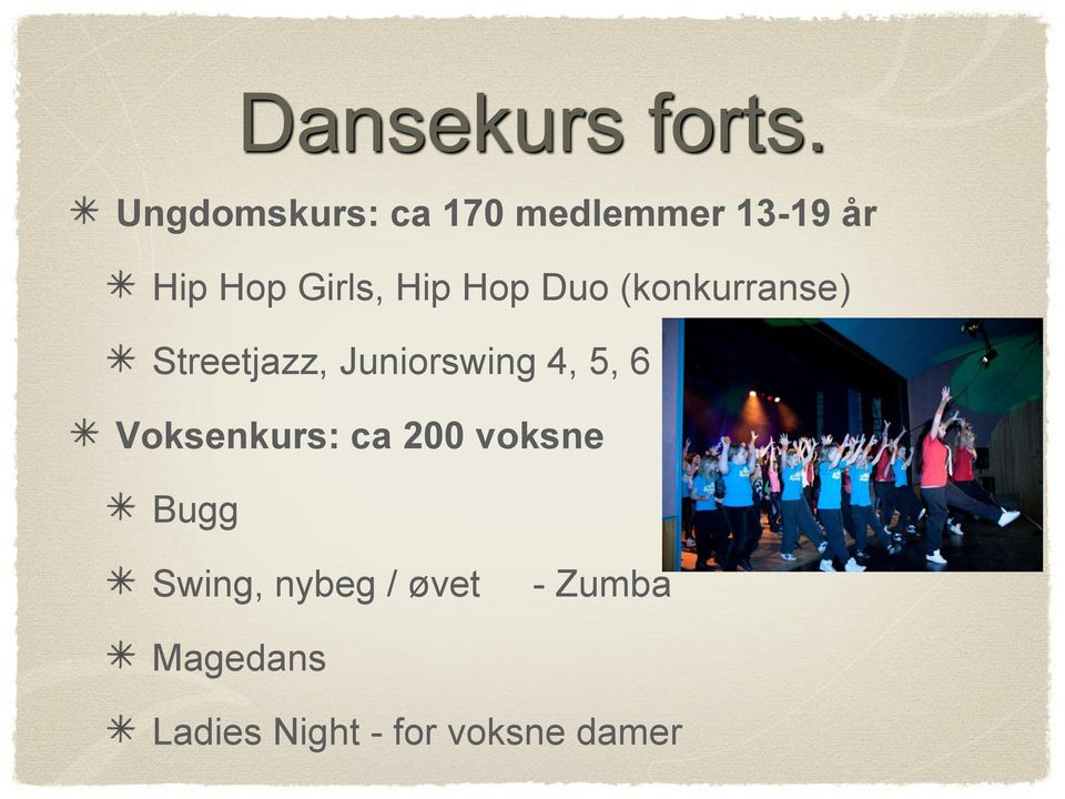 Hip Hop Duo (konkurranse) Streetjazz, Juniorswing 4, 5,