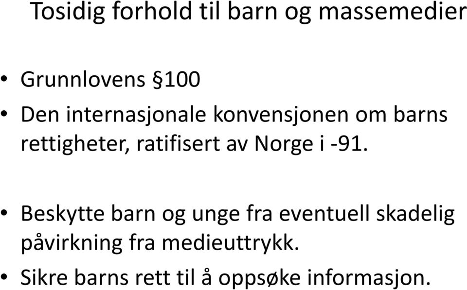 Norge i 91.