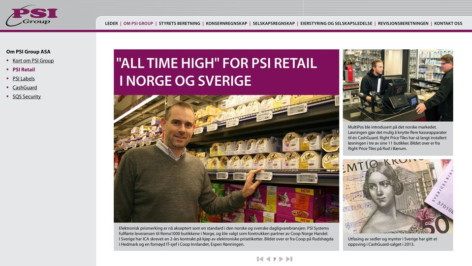 Right Price Tiles har så langt installert løsningen i tre av sine 11 butikker. Bildet over er fra Right Price Tiles på Rud i Bærum.