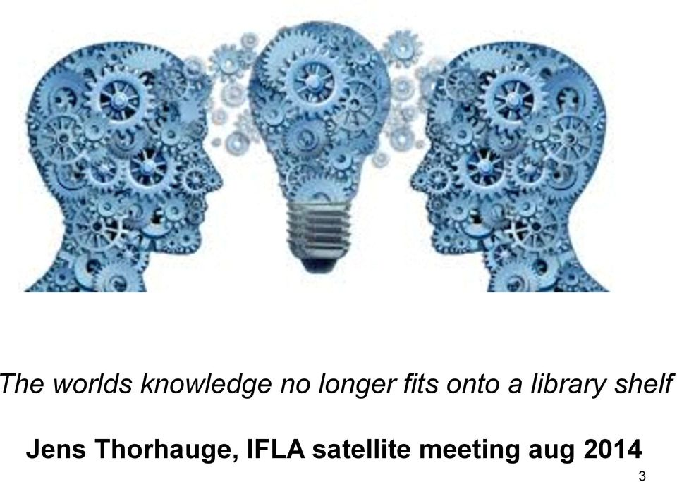 shelf Jens Thorhauge, IFLA