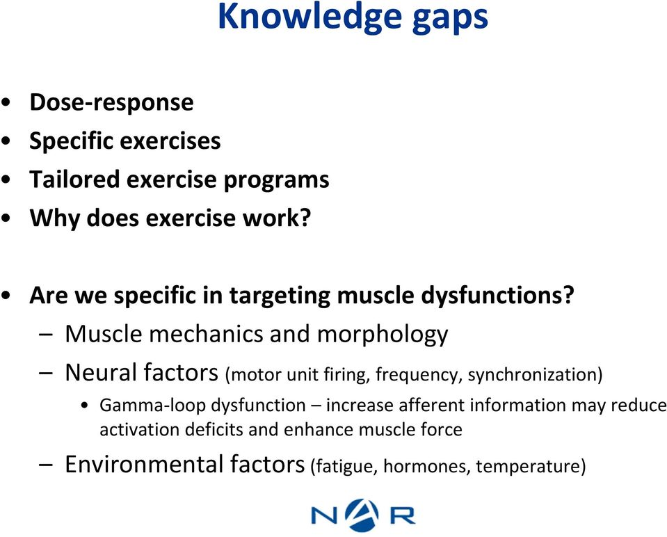 Muscle mechanics and morphology Neural factors (motor unit firing, frequency, synchronization)