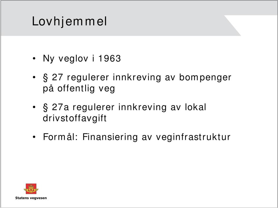 27a regulerer innkreving av lokal