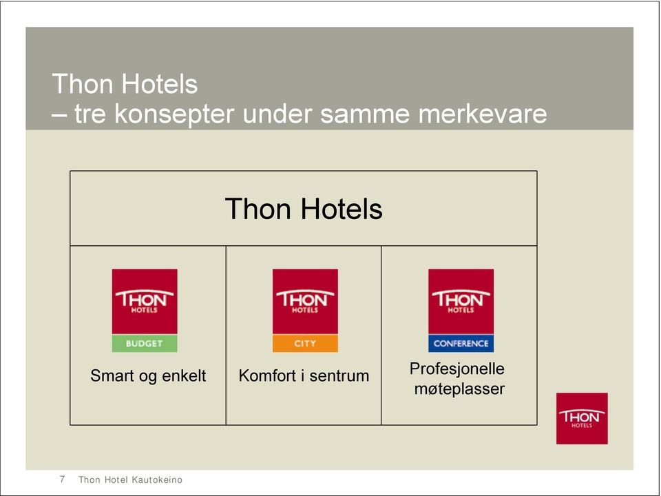 Hotels Smart og enkelt Komfort