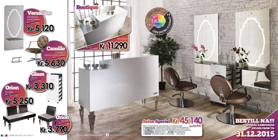 com G salonambiencegroup Salon Special Kr. 45.