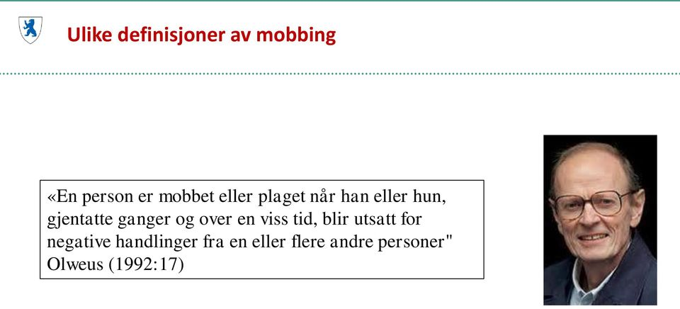 over en viss tid, blir utsatt for negative