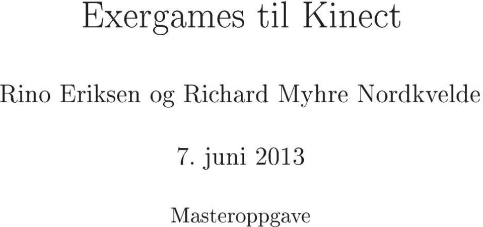 Richard Myhre