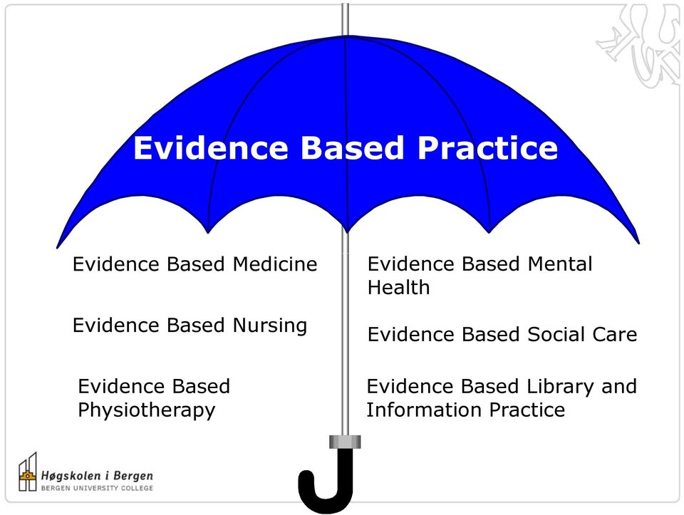 Physiotherapy Evidence Based Mental Health