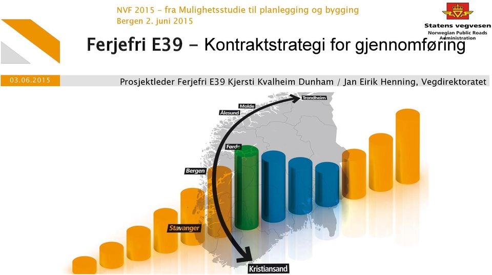 juni 2015 Ferjefri E39 - Kontraktstrategi for