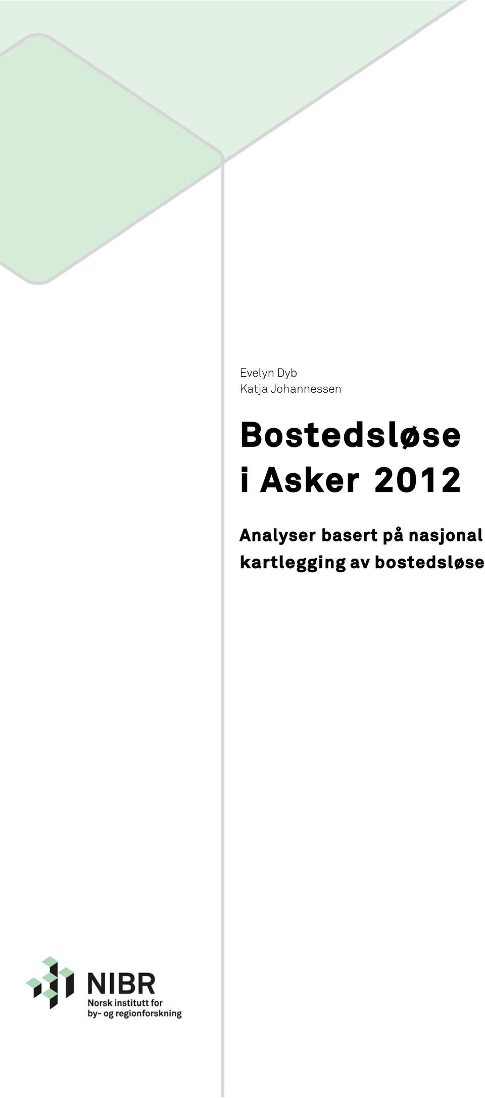Asker 2012 Analyser basert