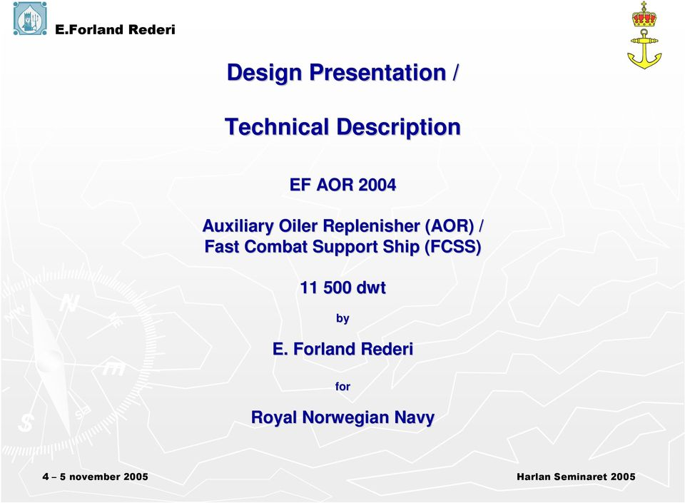 (AOR) / Fast Combat Support Ship (FCSS) 11