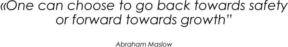 safety or forward