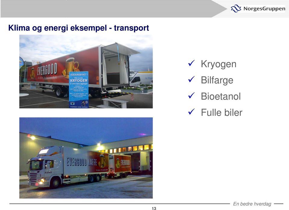 transport Kryogen