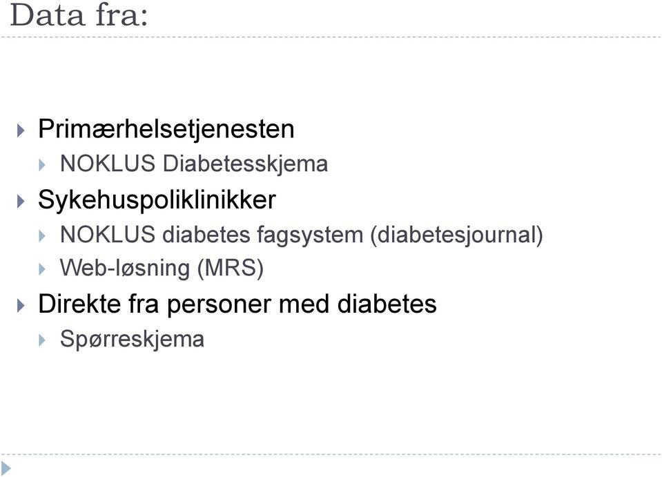 diabetes fagsystem (diabetesjournal)