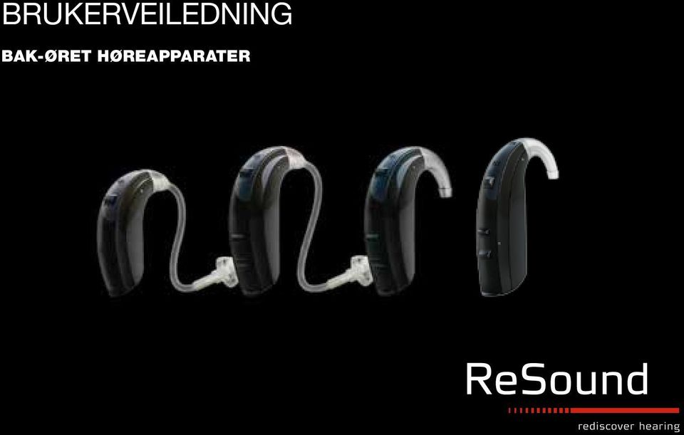 ReSound LO85 User Manual