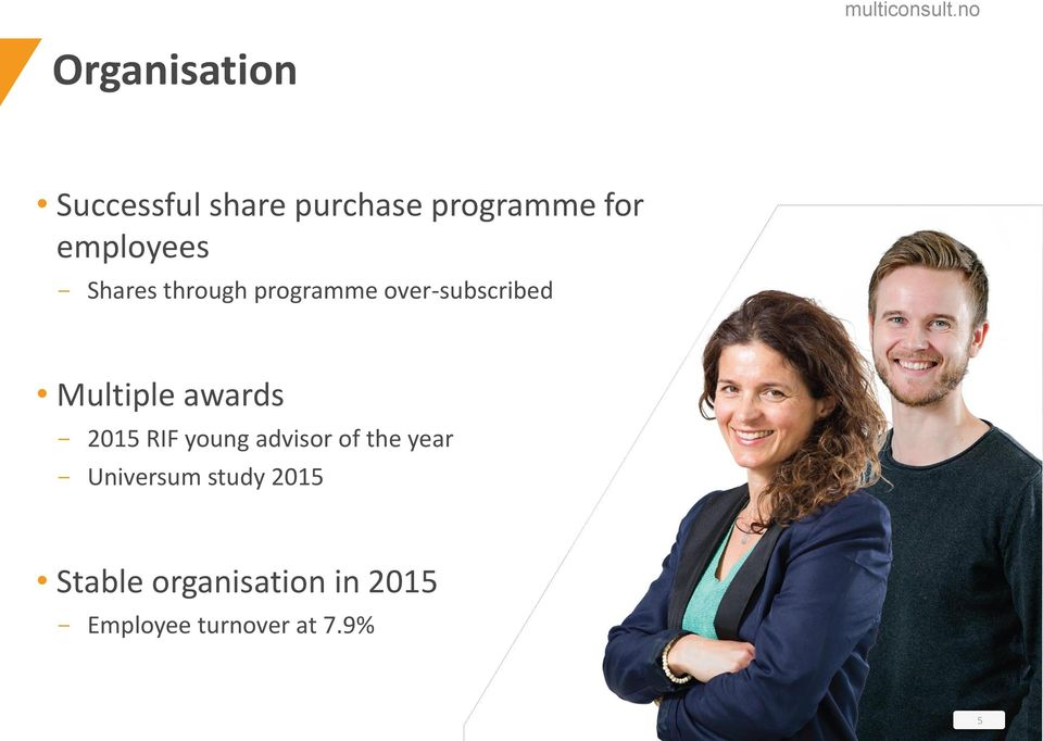 Multiple awards - 2015 RIF young advisor of the year -