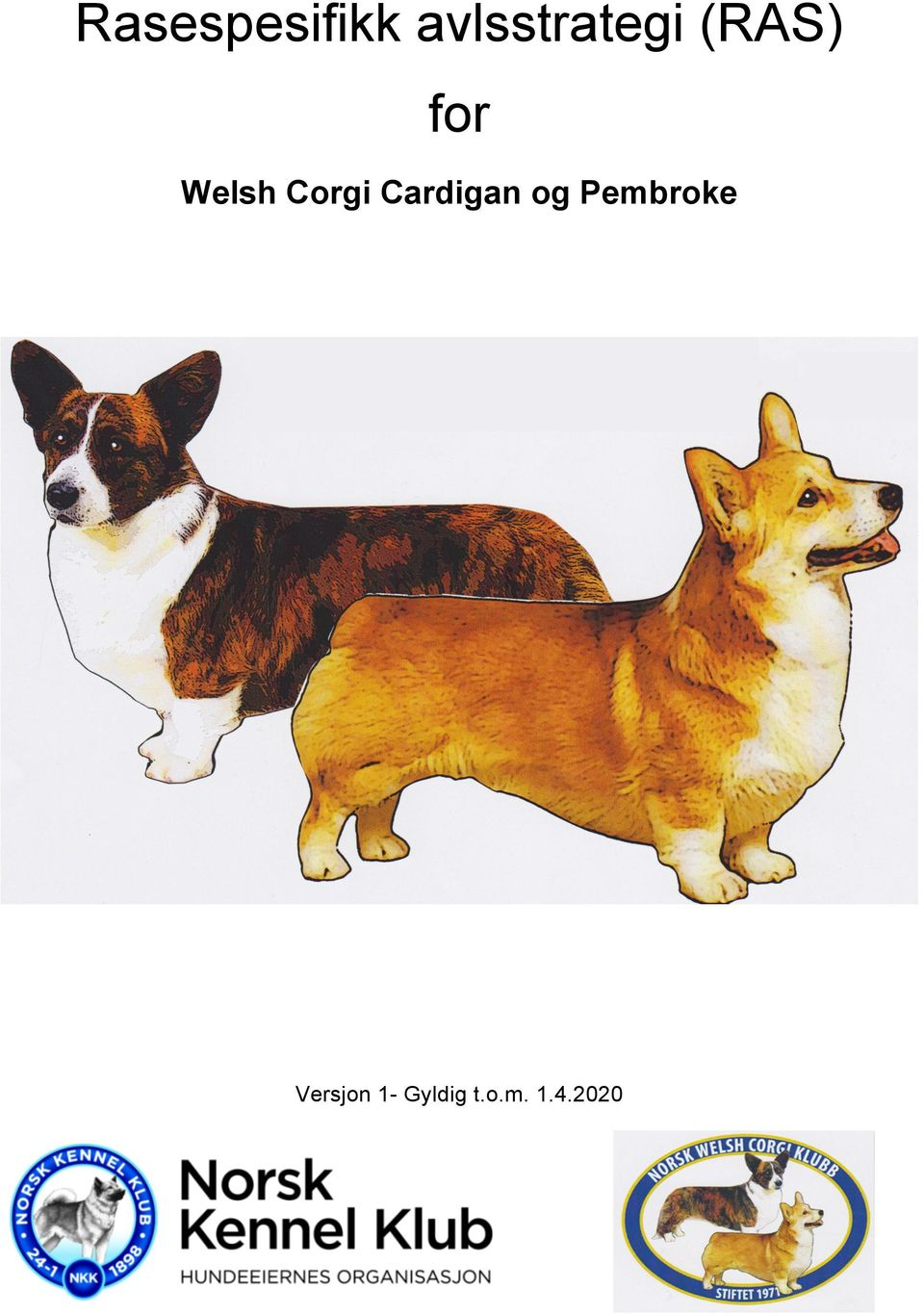 Welsh Corgi Cardigan og