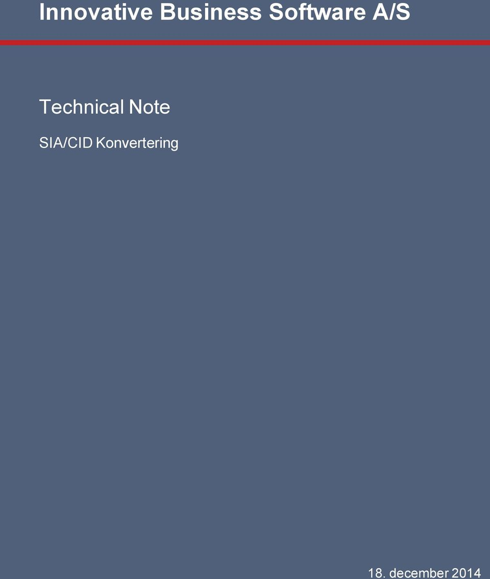 Technical Note