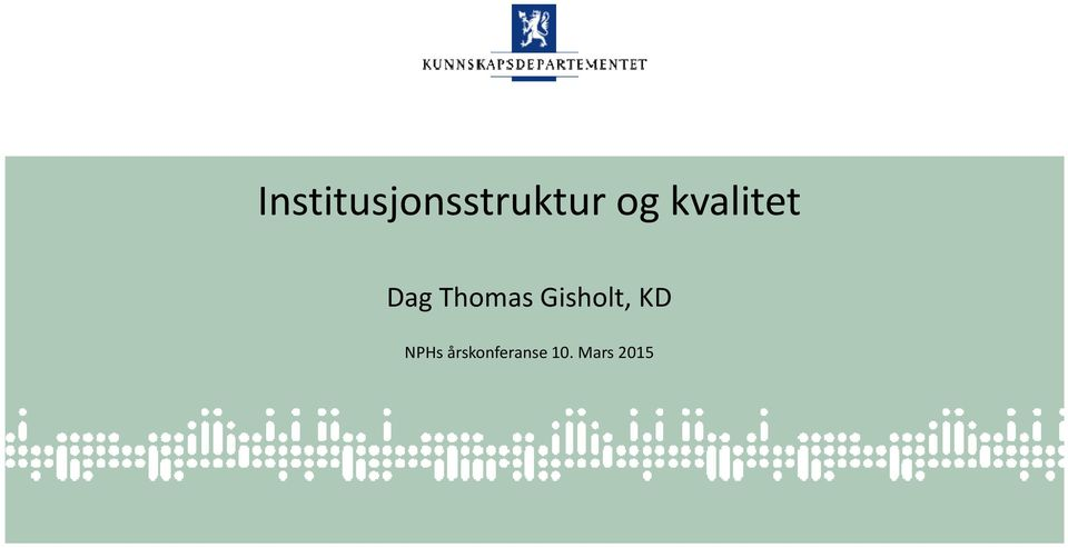 Thomas Gisholt, KD