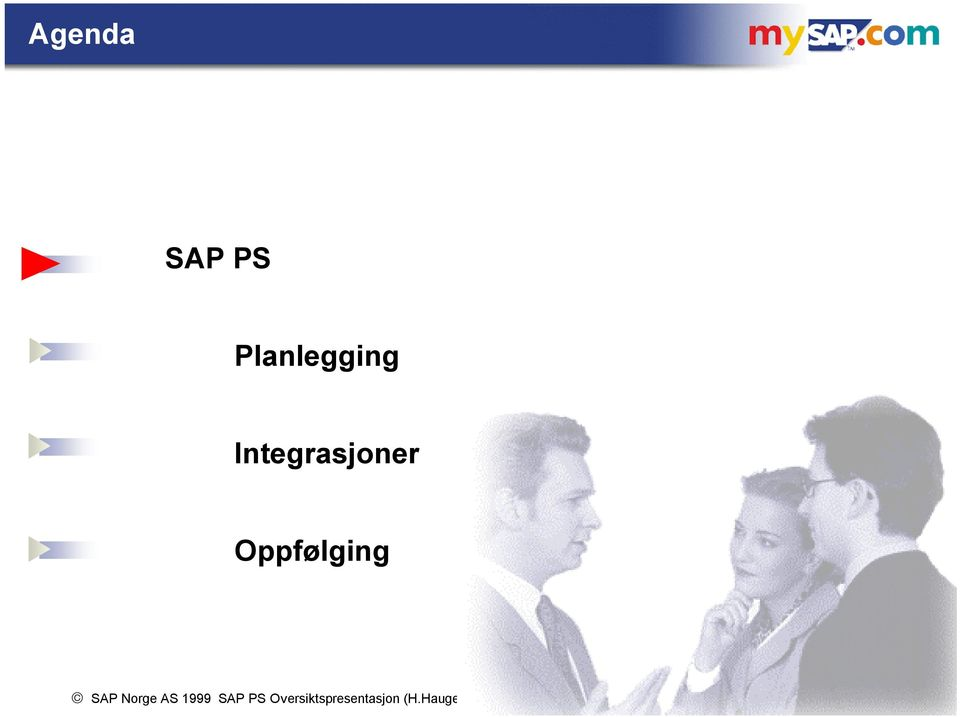 Norge AS 1999 SAP PS