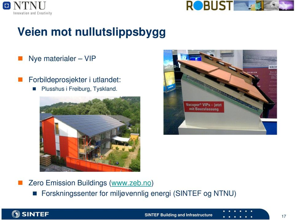 Tyskland. Zero Emission Buildings (www.zeb.