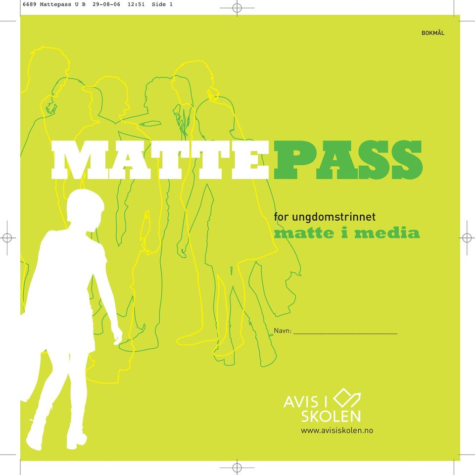MATTEPASS for ungdomstrinnet