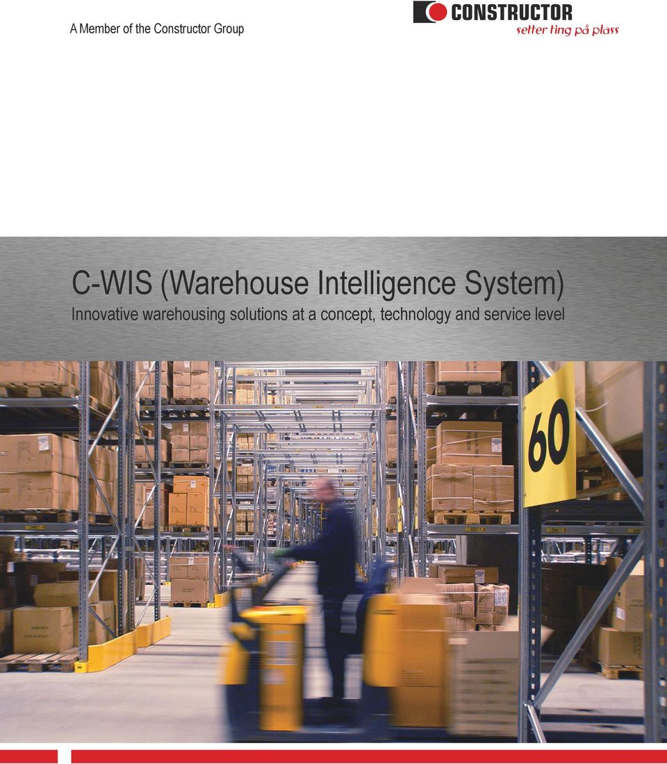 System) Innovative warehousing
