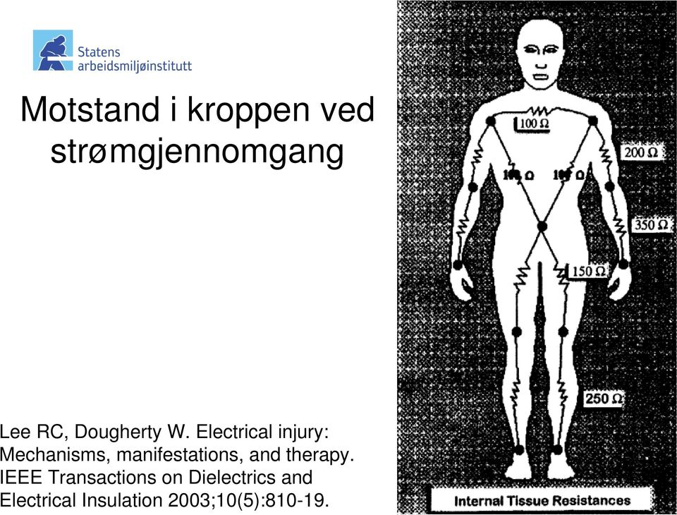 Electrical injury: Mechanisms, manifestations,