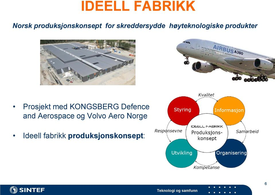 Prosjekt med KONGSBERG Defence and Aerospace