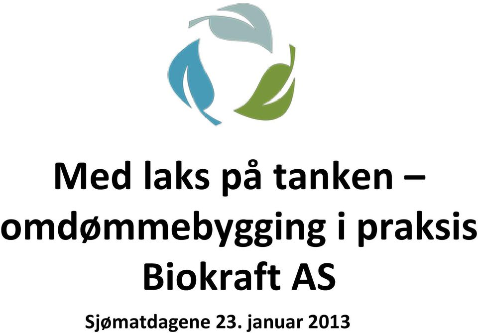 praksis Biokraft AS