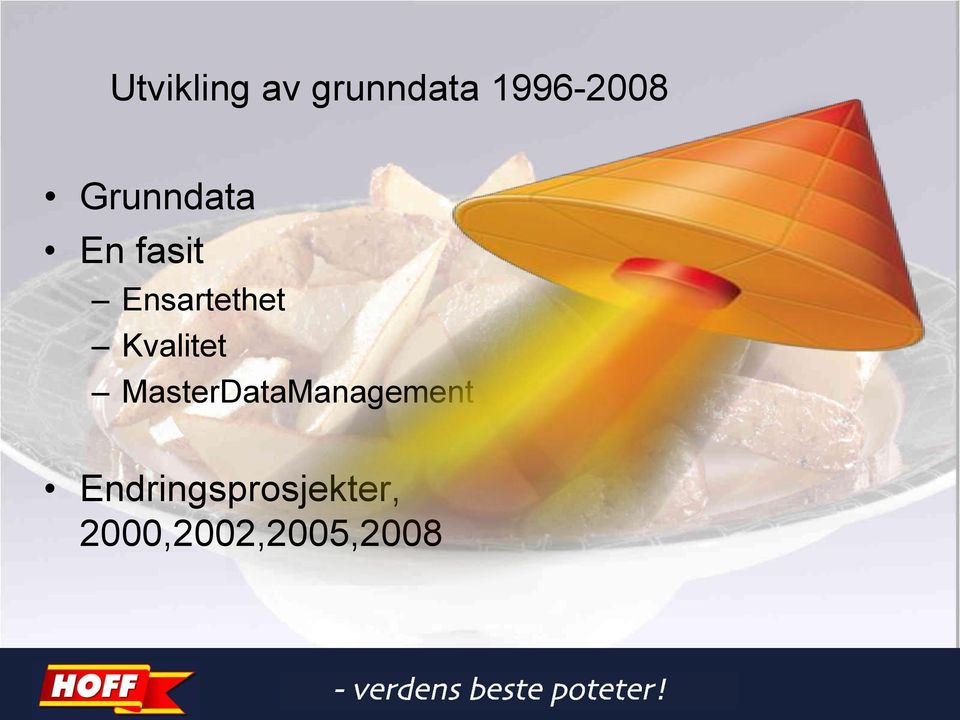 Kvalitet MasterDataManagement