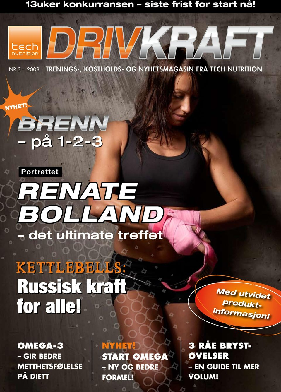 på 1-2-3 Portrettet RENATE BOLLAND det ultimate treffet Kettlebells: Russisk kraft for alle!