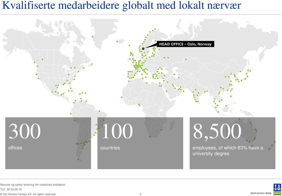 countries 8,500 employees, of