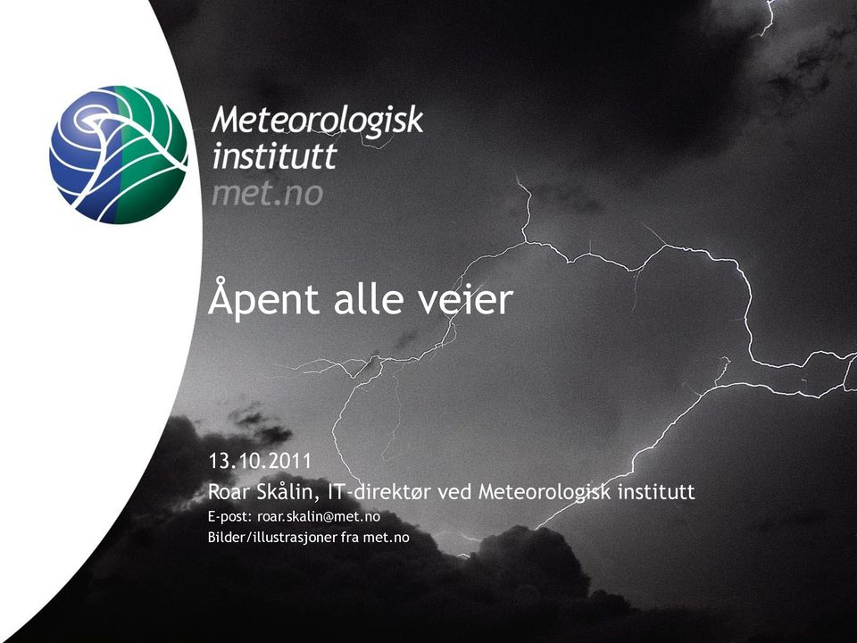 Meteorologisk institutt E-post: