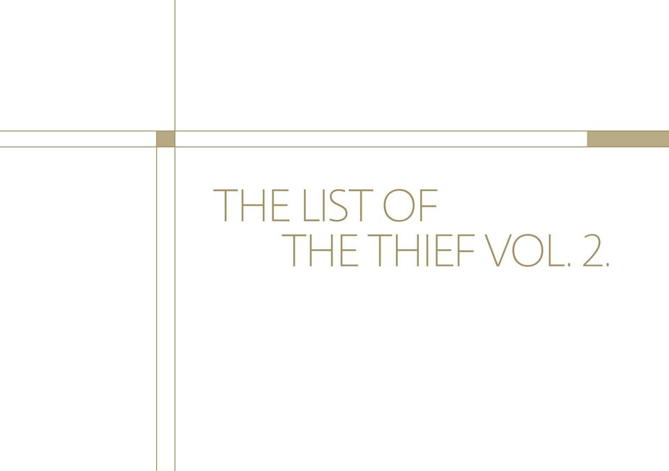 THIEF VOL.