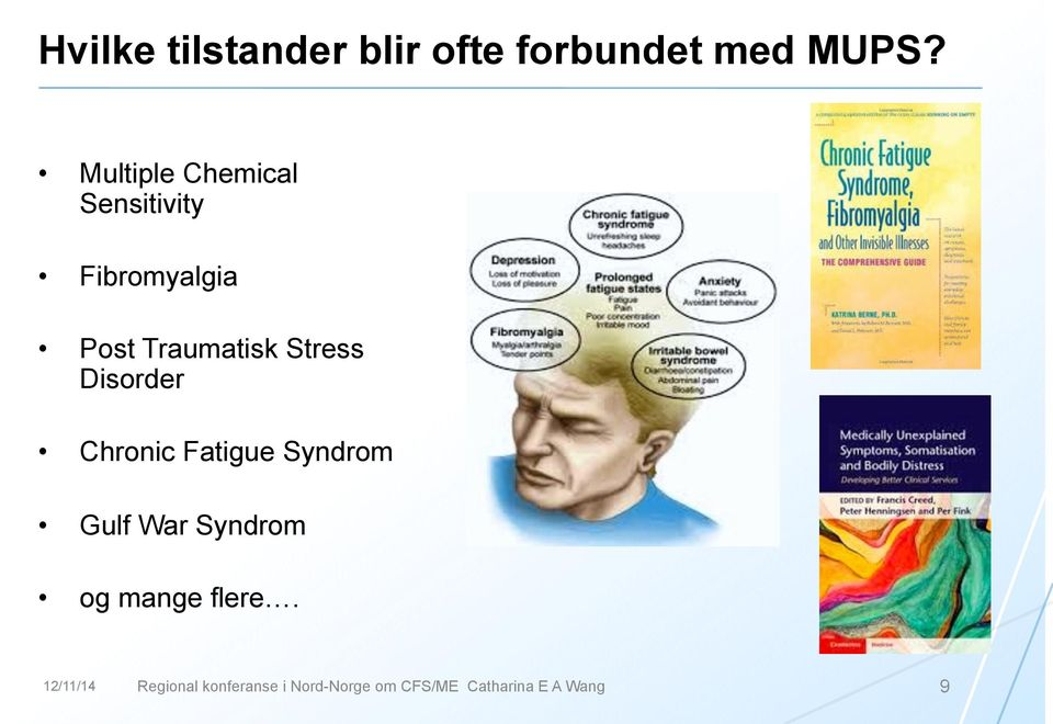 Stress Disorder Chronic Fatigue Syndrom Gulf War Syndrom og